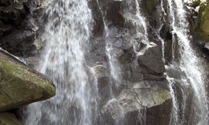 鶏鳴の滝 信楽