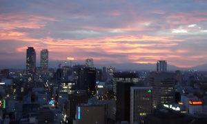 名古屋の残暑を色で涼む 名古屋テレビ塔~光の万華鏡~